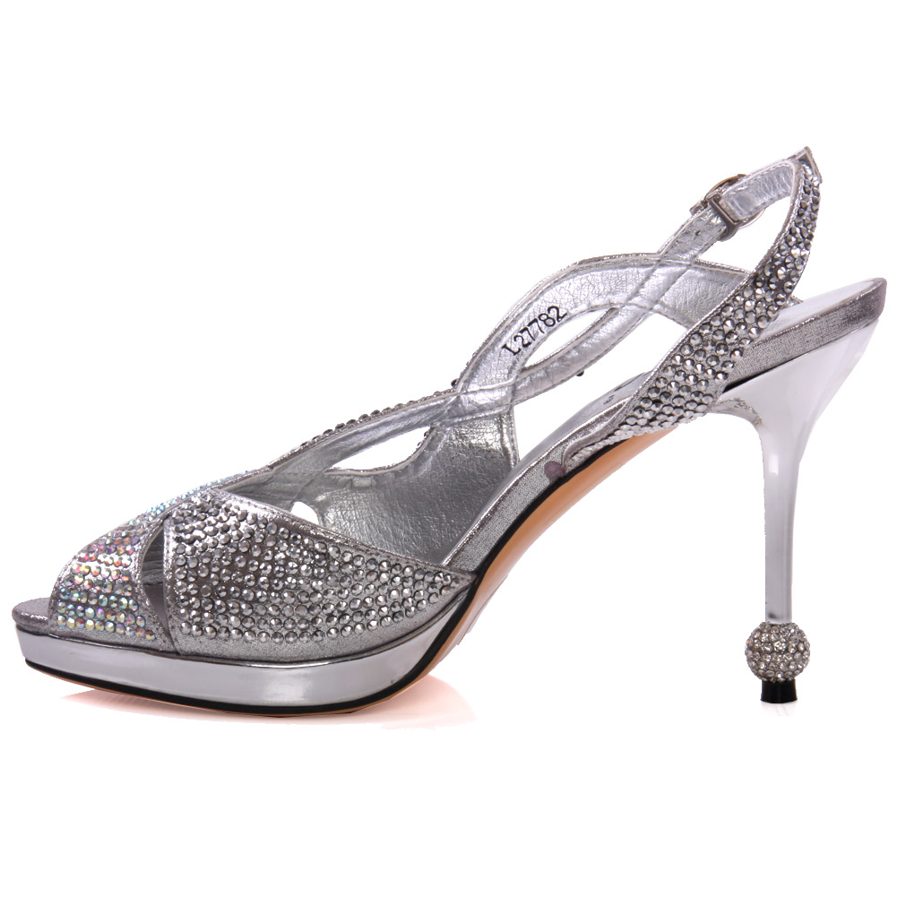 Our stunning silver occasion shoes are perfect for evening and party wear. A pair of silver heels is a must-have for every girls wardrobe, as they go with just about everything! From strappy high heeled silver sandals to shimmering silver court shoes, shop our beautiful collection.