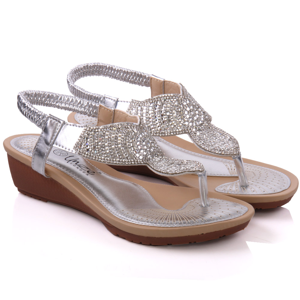 Creative Womens Emerl Embellished Party Sandals