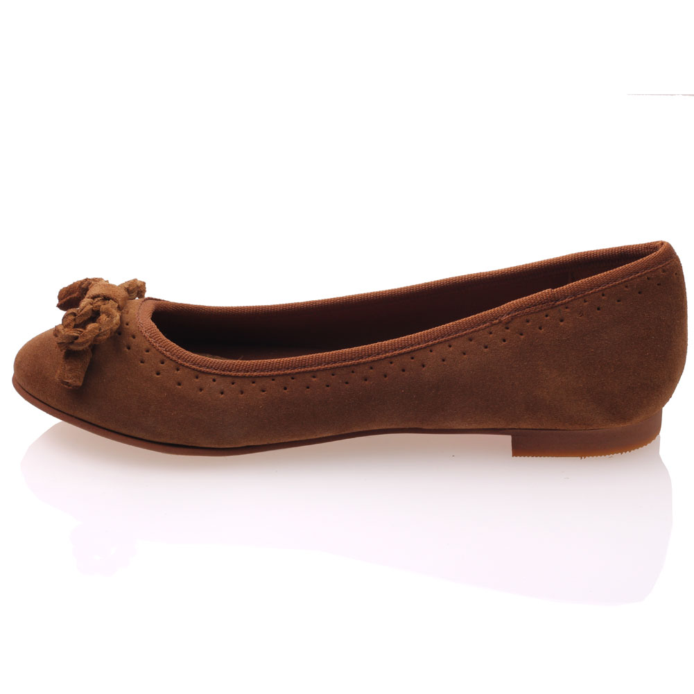 unze womens glen leather slipon shoes uk size 3 8 brown ebay
