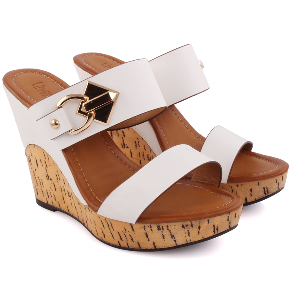 Free shipping and returns on Women's White Wedge Sandals at rutor-org.ga