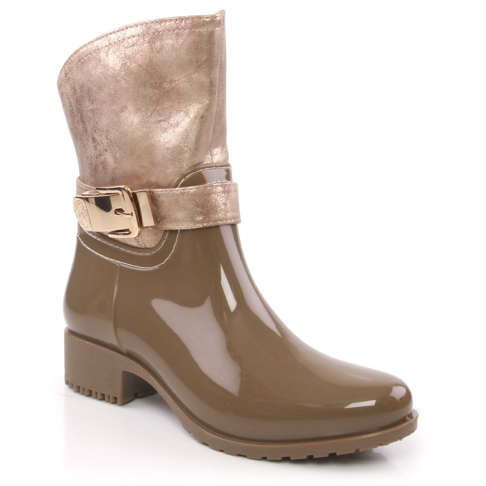 unze kizz womens flat high ankle boots size zip closure