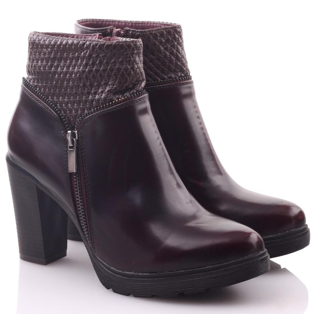 unze womens zimemer side zipped heeled ankle boots uk size