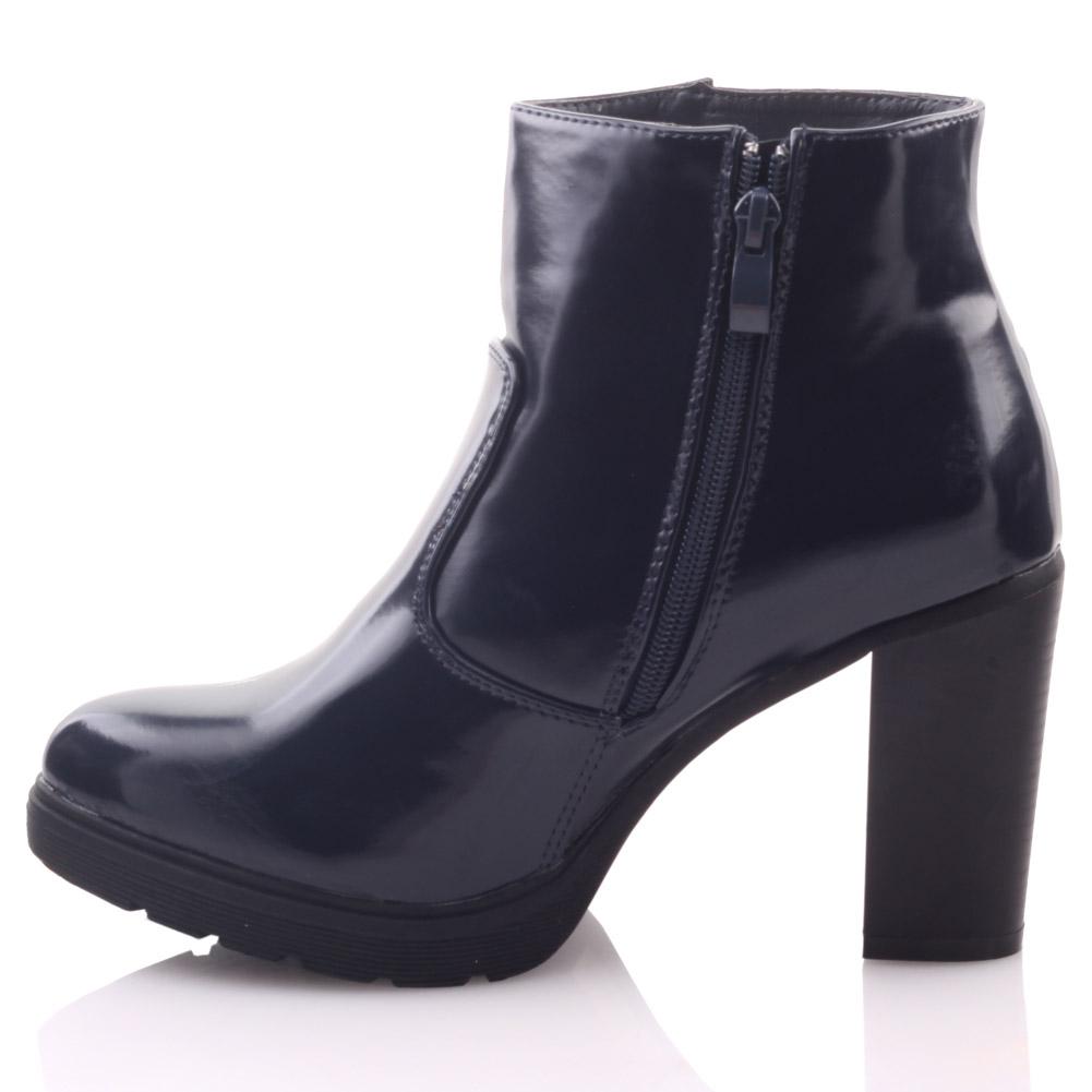 unze womens mochini buckled heeled winter ankle boots uk