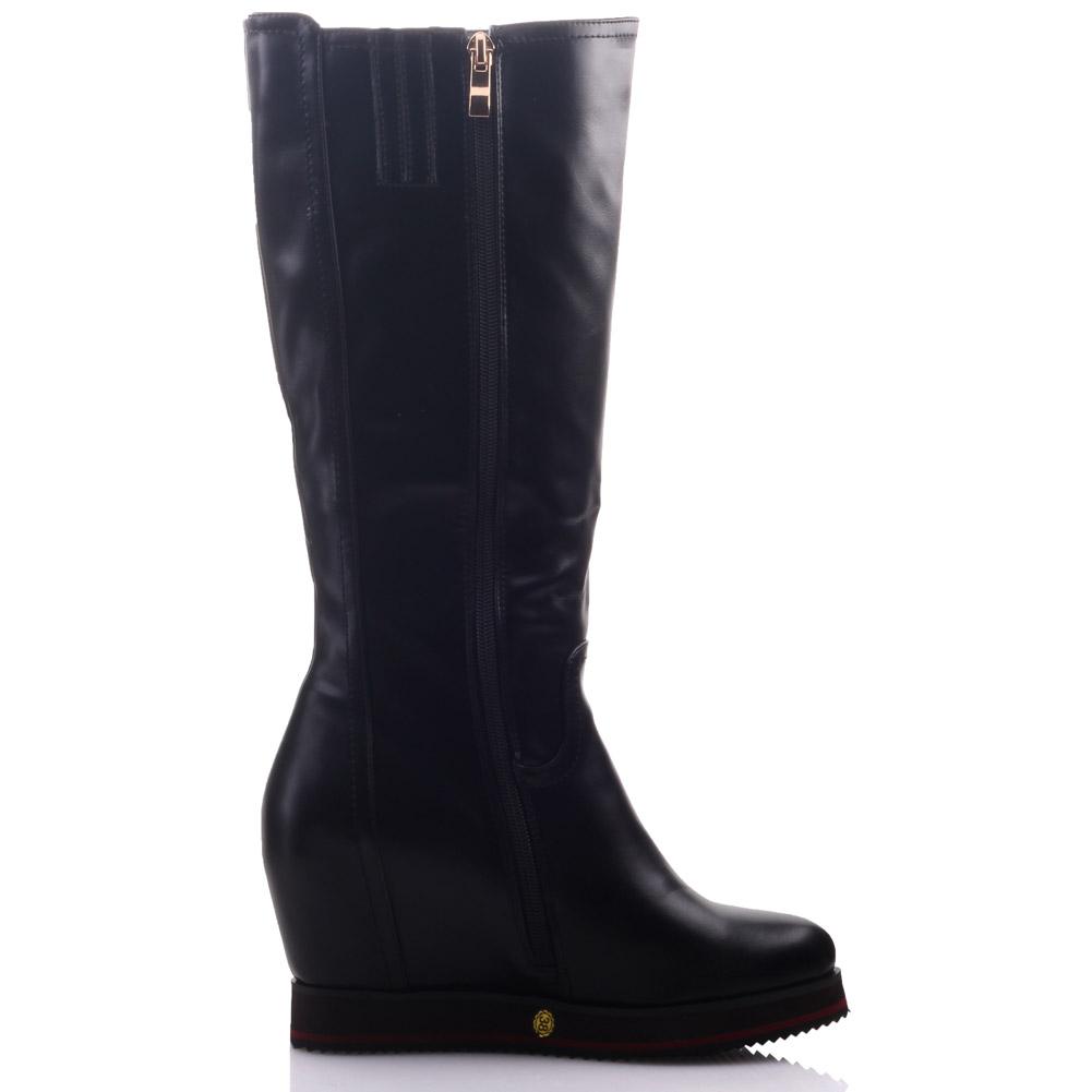 unze womens felix zipped wedge knee high winter boots uk