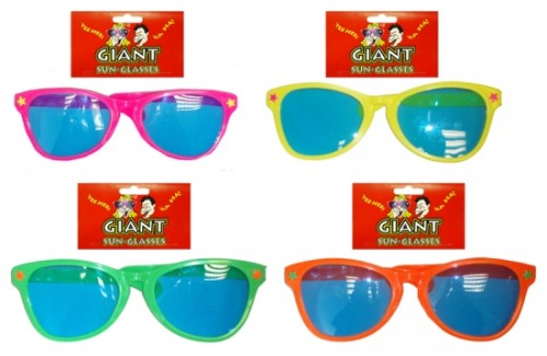 Giant Sunglasses for 70s 80s Fancy Dress Accessory