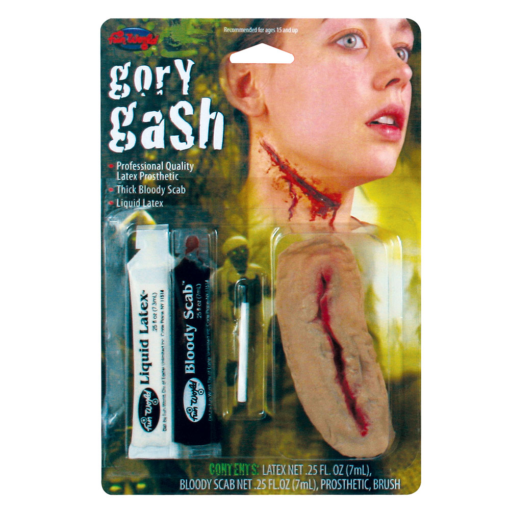 Gory Gash Fx Kit Makeup for Fancy Dress