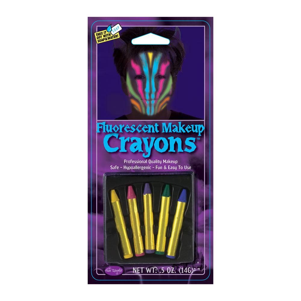 Florescent Makeup Crayons Makeup for Fancy Dress