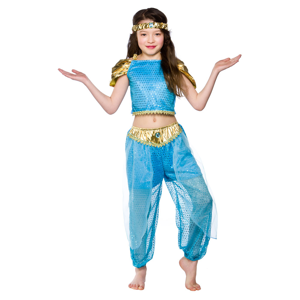 girls arabian princess costume for arab middle east fancy dress kids
