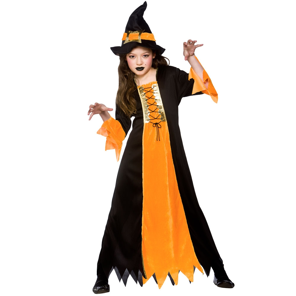 Girls Witch Costumes for Kids Witches Halloween Trick Treat Party ...