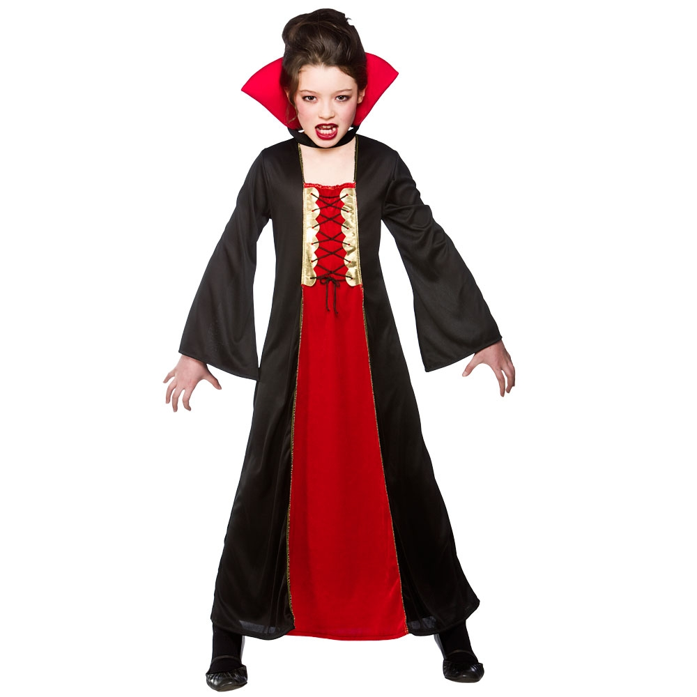 Lastest Vampire Women Ladies Fancy Dress Party Devils Demons Role Play For