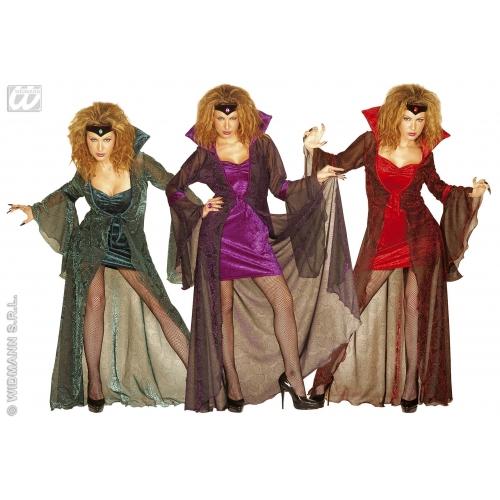 chers femme mystic ma tresse tenue costume pour halloween emo goth d guisements ebay. Black Bedroom Furniture Sets. Home Design Ideas