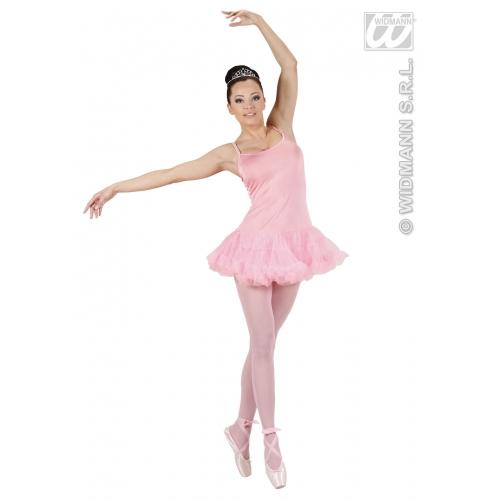 Ladies Prima Ballerina Pink Costume for Gymnastics Dancer ...