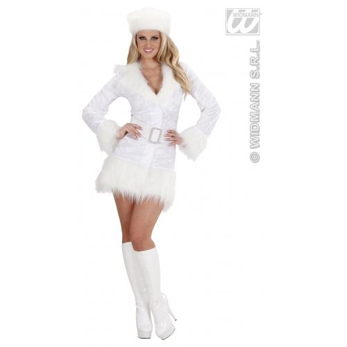 Frauen Weiß Russin Russisch Kostüm Outfit 70er Tanz Disko Thema ...
