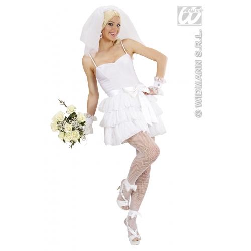 Ladies Womens Bride Costume Outfit For Wedding Hen Fancy Dress | EBay