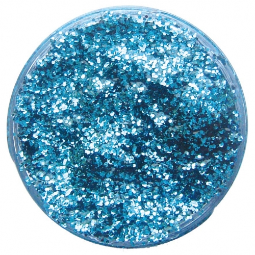 Sky Blue Glitter Gel 12ml for Makeup Paint Stage Accessory