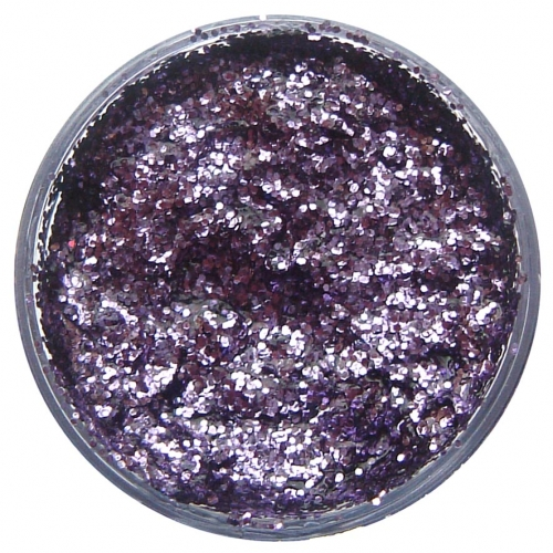 Lavender Glitter Gel 12ml Lavender for Makeup Paint Stage Accessory