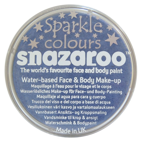 Sparkle Blue Makeup 18ml Sparkle Blue for Face Body Paint Stage Accessory