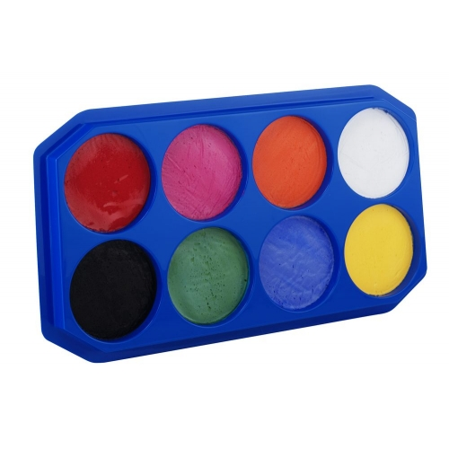Palette Tray 8x18ml for Makeup Paint Stage Accessory