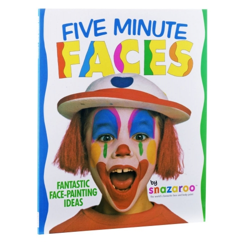 Book Five Minute Faces for Makeup Paint Stage Accessory