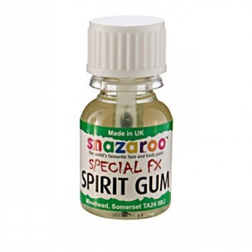 SPIRIT GUM 10ml SFX for Ghost Ghoul Spook Halloween Cosmetics
