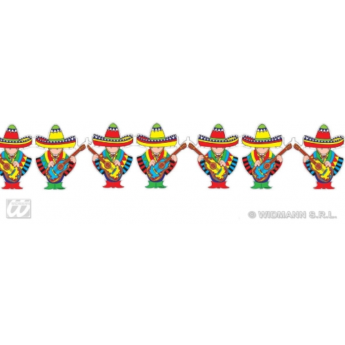 MARIACHI GARLANDS 3m for Latin Dancer Mexican Spanish Decoration Party