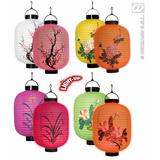 LED LIGHT ORIENTAL LANTERNS (SINGLES) 1 of 3 styles 20cm Decoration for Chinese