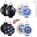 LED LIGHT HALLOWEEN LANTERNS 1 of 4 styles Decoration for Trick Or Treat Party