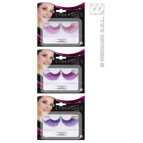 Eyelashes Extralong Meched Colour Makeup for Accessory Stage Accessory