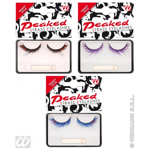 Eyelashes Peaked Strass Makeup for Accessory Stage Accessory