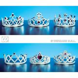 TIARA CROWN WITH JEWELS Hat Accessory for Princess Fairy Queen Fancy Dress