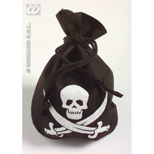 PIRATE POUCH Accessory for Buccaneer Sailor Jack Blackbeard Fancy Dress