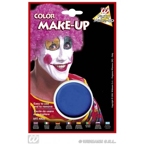 Makeup In Tray Blue for Face Body Paint Stage Accessory