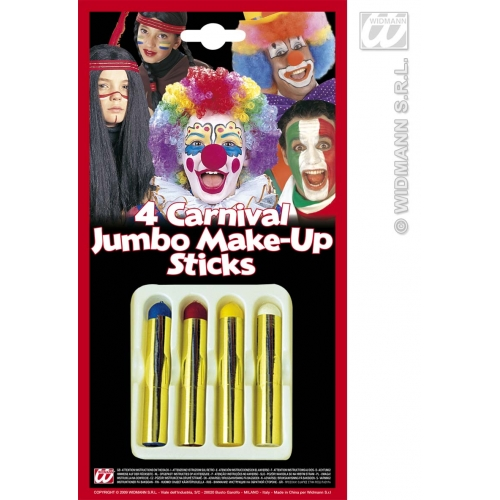 Makeup Sticks Jumbo for Face Body Paint Stage Accessory