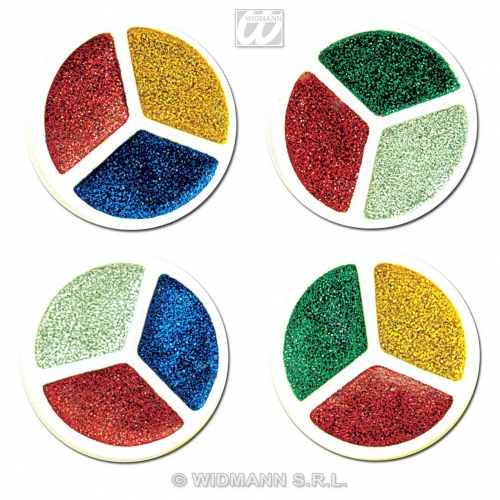 Tri Glitter Makeup for Accessory Stage Accessory