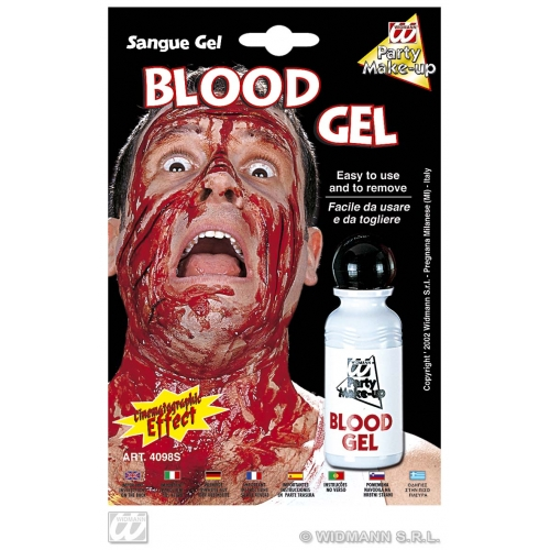 BLOOD GEL BOTTLE SFX for Bleeding Wound Vampire Cosmetics