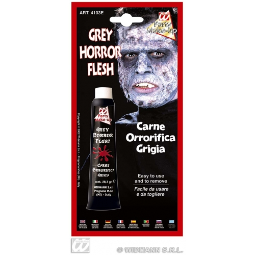 GREY HORROR FLESH TUBE SFX for Hammer Halloween Cosmetics
