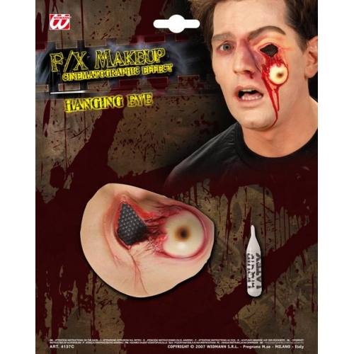 Special Effects SFx Hanging Eyes Makeup for SFX Halloween Stage Accessory