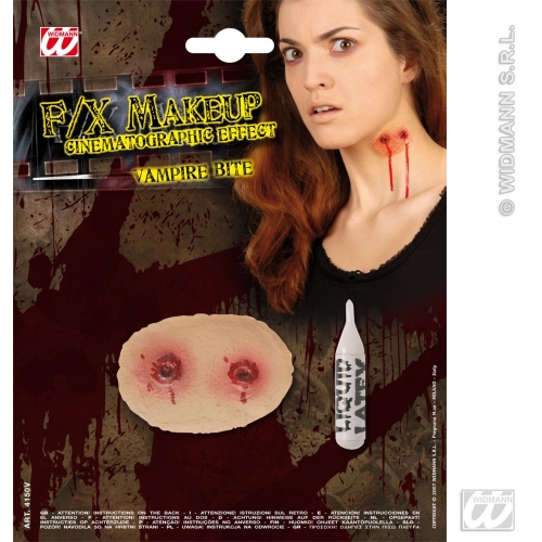 Special Effects SFx Vampire Bites Makeup for SFX Halloween Stage Accessory
