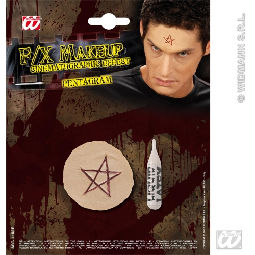 Special Effects SFx Pentagrams Makeup for SFX Halloween Stage Accessory