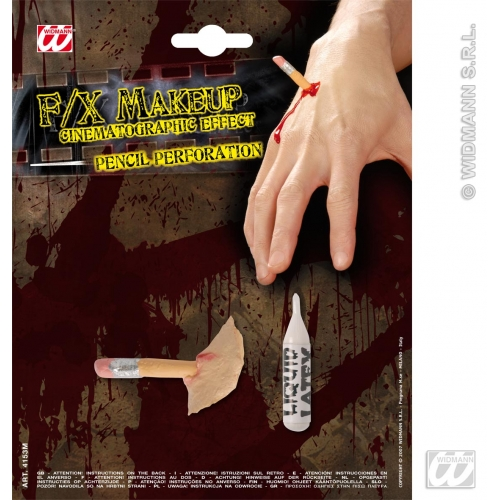 Special Effects SFx Pencil Perforations Makeup for SFX Halloween Stage Accessory