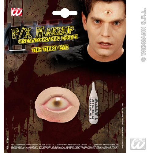 Special Effects SFx Third Eye Makeup for SFX Halloween Stage Accessory