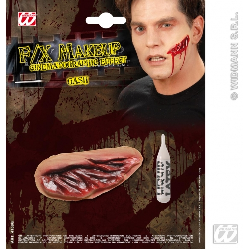 HALLOWEEN SFX GASHES SFX for Trick Or Treat Cosmetics