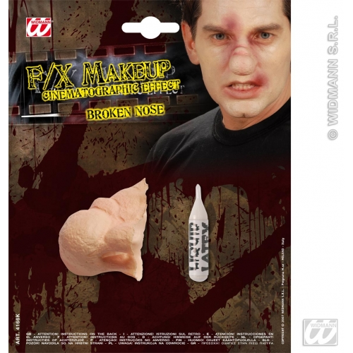 Special Effects SFx Broken Nose Makeup for SFX Halloween Stage Accessory