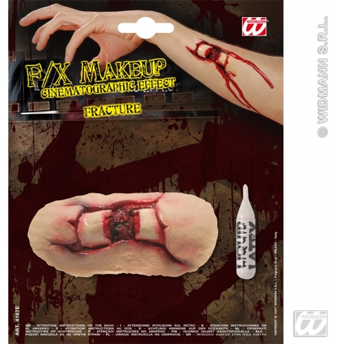 Special Effects SFx Fractures Makeup for SFX Halloween Stage Accessory