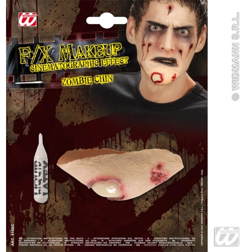 SFX ZOMBIE CHINS SFX for TWD Halloween Living Walking Dead Cosmetics