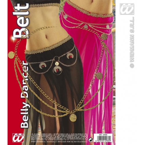 BELLY DANCER BELT 1 of 2 styles SFX for Dance Performer Disco Rock Pop Cosmetics
