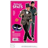 Deluxe Spats Shoes for 20s 30s Gangster Mob Fancy Dress
