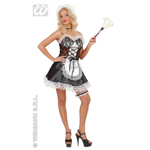 French Maid Fancy Dress Costumes Outfits Accessories ...