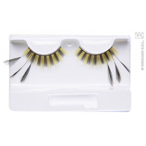 BEE EYELASHES (glass glue bottle) SFX for Bumble Wasp Insect Cosmetics