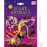 SCARY ANIMALS AND INSECTS CARDED Decoration for Spooky Creepy Halloween Party